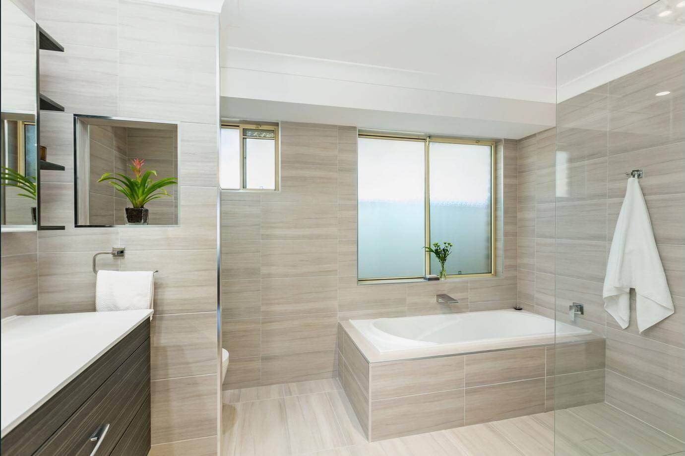 Gorgeous Neutral Bathroom Designs – Stanhope Gardens | Style Tiles ...
