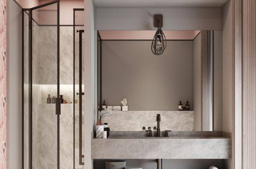 Add a Dash of Pink to your Bathroom