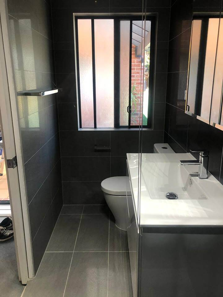 Completed Ensuite Renovation @ Kellyville Ridge
