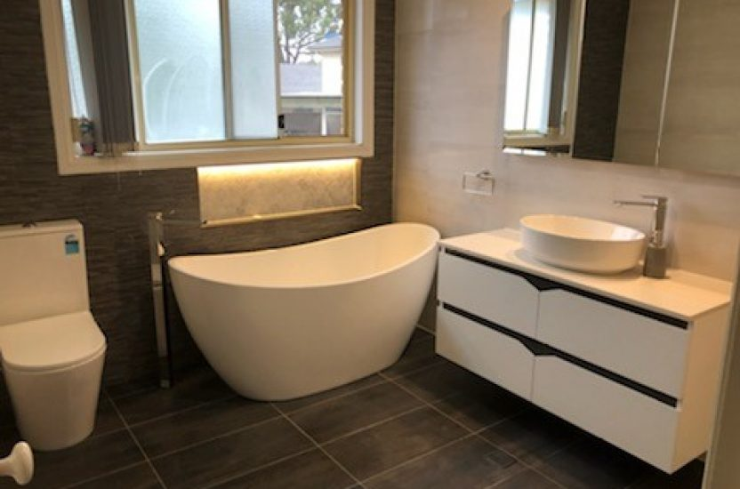 Completed Main Bathroom Rouse Hill