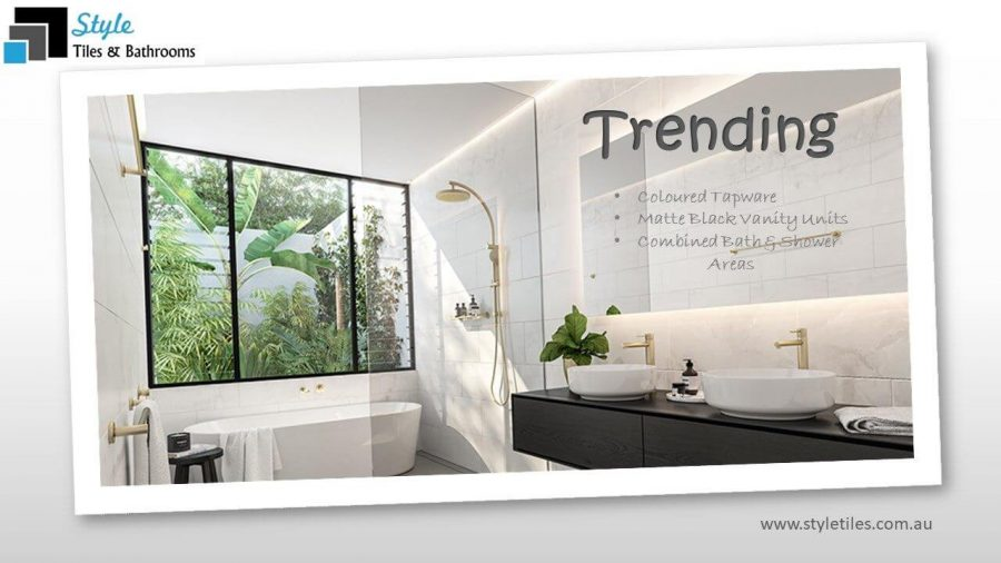 Start Setting your own bathroom trends!