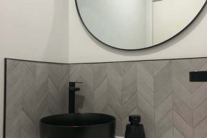 Completed Powder Room @ Stanhope Gardens