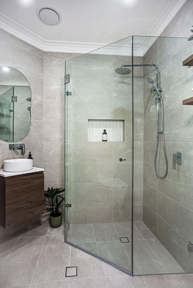 Powder Room, Ensuite and Laundry Renovation