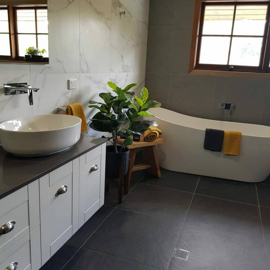 Another Main Bathroom Renovation Completed! Tennyson in Style
