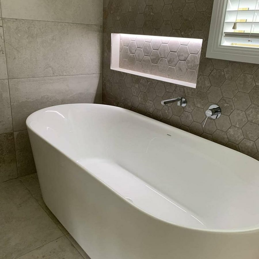 Another Completed Main Bathroom Renovations Kellyville