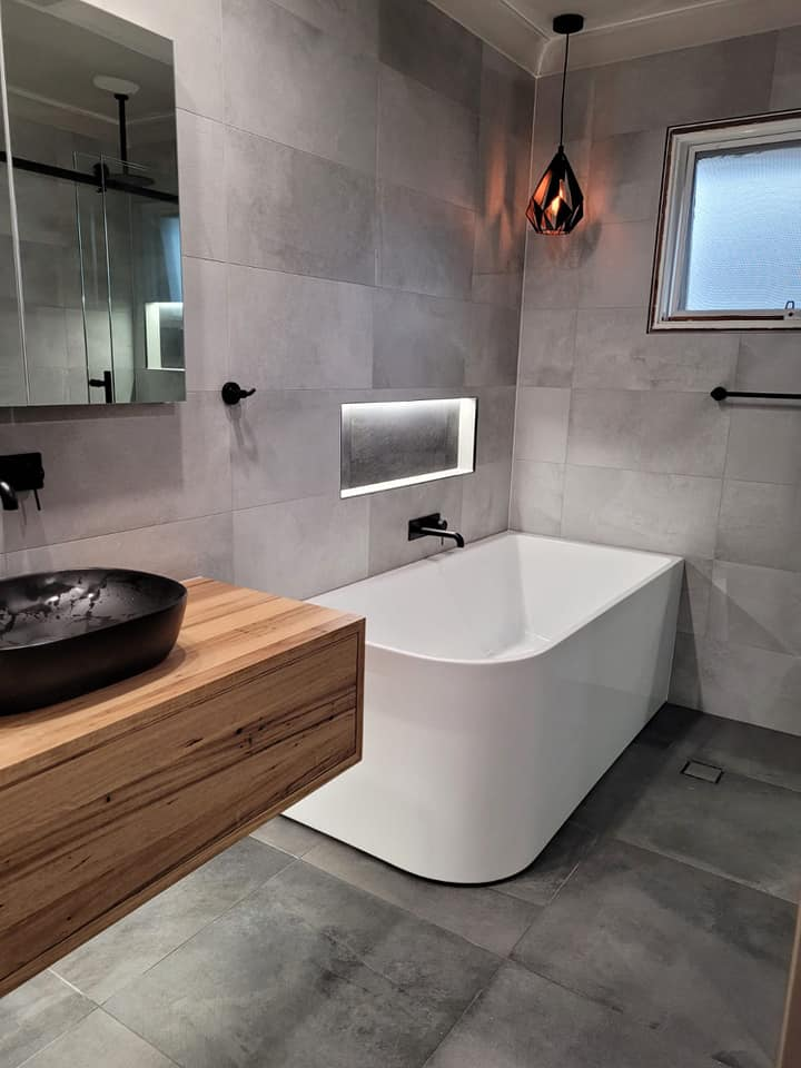 Completed Main Bathroom Renovation Castle Hill