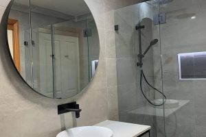 Completed Ensuite Renovation Beaumont Hills