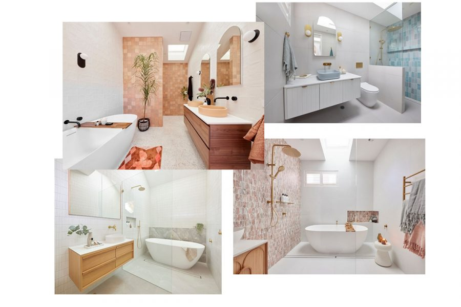 Bathroom Inspiration from The Block 2021